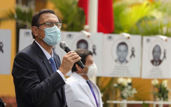 Presidente Vizcarra: Que esta pandemia histórica nos deje como lección aprendida que la salud es fundamental para el desarrollo