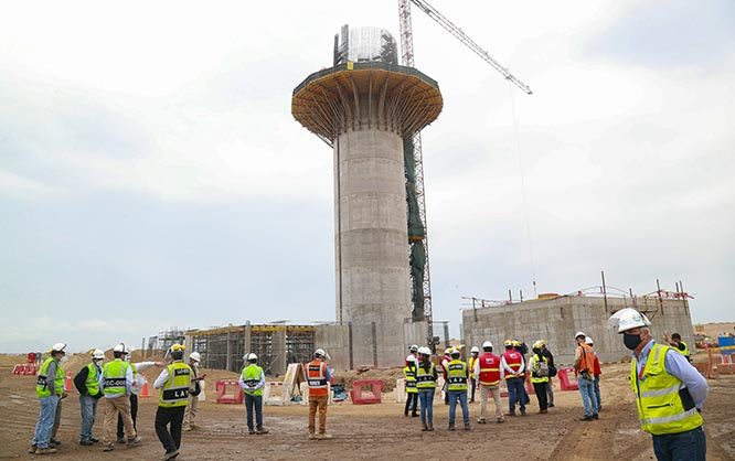 MTC: Corpac iniciará implementación de la segunda torre de control del aeropuerto Jorge Chávez en mayo