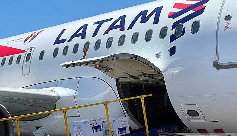 LATAM ya ha transportado gratuitamente más de 50 millones de vacunas dentro de Sudamérica