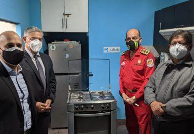 Gas Natural a 5 compañías del Cuerpo de Bomberos Voluntarios
