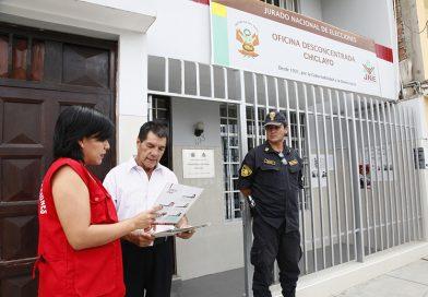 Oficinas desconcentradas del JNE inscribirán a movimientos regionales