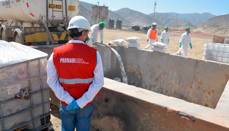 PRONABI inició neutralización de 334,131.463 kilos de insumos químicos incautados