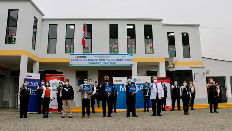 Rímac: MINSA inauguró el Centro de Salud Mental Comunitario