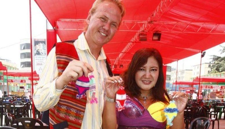 Se acabaron los rencores:  Flor de Huaraz y el Gringo Karl tienen divertido reencuentro en 'El reventonazo'