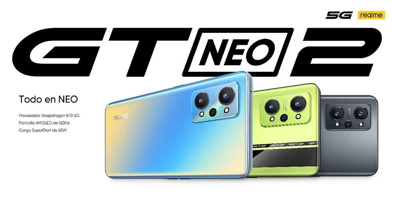 """realme lanzó su nuevo """"flagship killer"""", el realme GT Neo 2 en el mercado asiático"""
