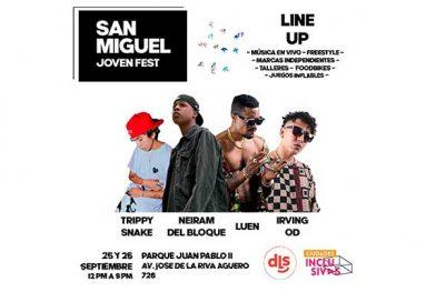 San Miguel Joven Fest: Cultura para jóvenes