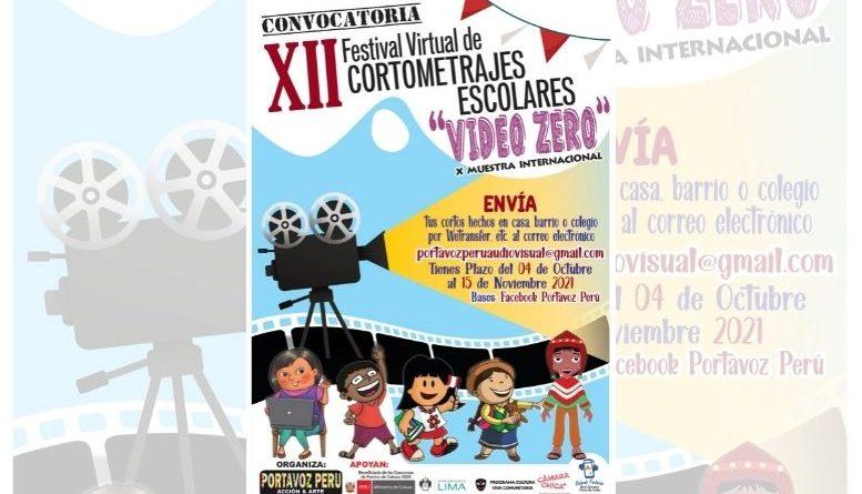 XII Festival Internacional de Cortometrajes Escolares